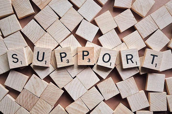 support tiles